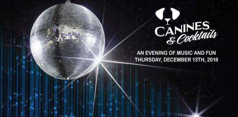 2018 Canines & Cocktails logo