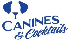 The Canines & Cocktails logo
